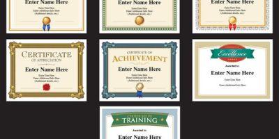 create professional certificate templates
